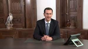 كلمة السيد الرئيس بشار الأسد بمناسبة معارك التحرير الاخيرة - YouTube