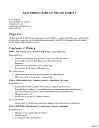 Entry Level Office Assistant Resume Entry Level Office Assistant Resume Objective For Sample Vesochieuxo 9