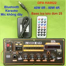 Mạch loa kéo công suất 40W - 80W HA8622 Loa kéo 2.5 tấc - 3 tấc Bluetooth  Karaoke v1