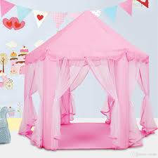 lovely girls pink princess castle cute playhouse children kids play tent outdoor toys tent for children kids gift tent toys kids tent tunnel from toyinjc