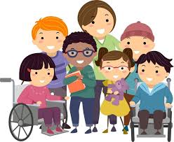 Image result for children with disabilities clip art