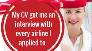 Cabin Crew Job Interview Tips My Cv Got Me An Interview With Every