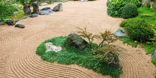 japanese zen garden according
