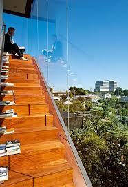 Neue design rahmenlose glas balustrade aluminium balkon geländer für outdoor treppen handläufe treppen handlauf preis klappdachboden. Treppen Treppengelander Aus Holz Stahl Beton Schoner Wohnen