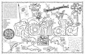 Small Picture Florida Coloring Page State Symbols Pagejpg Coloring Pages
