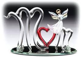 glass angels figurines mom glass angel cut glass angel figurines