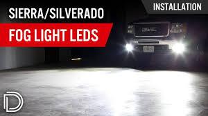 2008 Chevrolet Silverado Fog Light Bulbs How To Install Led Fog Lights On Gmc Sierra Chevy Silverado