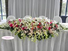 Wedding Flowers Decoration 17 Best Images About Bridal Party Table On Pinterest Local