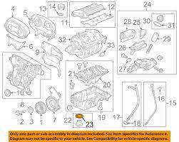 gm oem engine parts drain plug seal 90528145 ebay gm parts catalog with part numbers at Gm Oem Parts Diagram