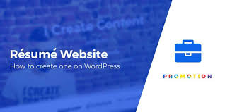 Resume Website Adorable How To Create A Resume Website With WordPress That Gets You Hired