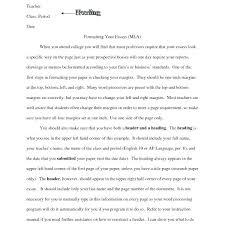 College App Essay Format Administrativelawjudge Info