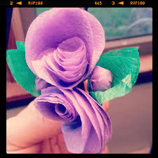 Paper Flower Branches Try Handmade Gallerybuy Custom Color Paper Flower And Tree Branch