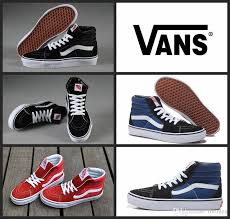 vans shoes red and white. original vans classic old skool high top canvas shoes sk8 hi white black red brand women and mens skateboarding casual blue clogs for