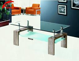 image of glass top living room center table tips to put something at the designs