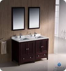 bathroom vanity double sink 48 inches
