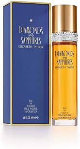 <b>Elizabeth Taylor Diamonds</b> and Sapphires Eau de Toilette - 100 ml ...
