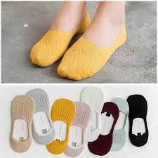 <b>Women</b> Candy Cotton <b>Breathable</b> Casual Low Cut Ankle Boat Sock ...