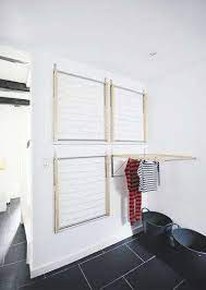 diy instant laundry drying room the