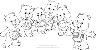 Disegno Degli Orsetti Del Cuore Da Colorare