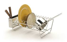 Kitchen Drying Rack For Sink Kitchen Sinks Wall Dish Drying Rack Combined 2 Tier Stainless