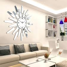 luxury large living room wall clock modern decorative art watch brief fashion decoration silent decor idea