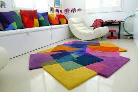 5x7 kids rug modern