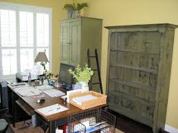 shabby chic office furniture. green yellow office shabby chic furniture a