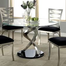 Glass Dining Room Furniture Simple Design
