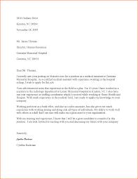Cover Letter For Resume Medical Assistant medical assistant cover letter medical assistant cover letter 12