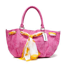 Best Style Coach Embossed Scarf Medium Pink Totes Dfm Outlet Ou7yG