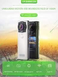 360 derece HD 4K Kalite Çift Kamera SC - CA08 Panoramik Hareket Kamerası