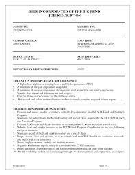 Lifeguard Sample Resume Format For Fresh Graduates Single Page