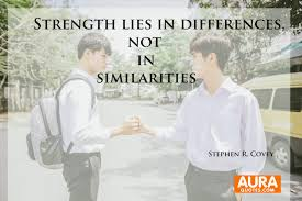 Quotes Of Strength Delectable Success Quotes Strength Lies In Differences Not In Similarities