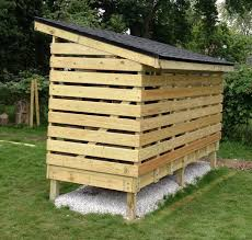 How To Build A Firewood Storage Shed Youtube
