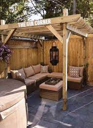54 ideas covered garden seating area