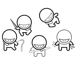 Small Picture Free Printable Ninja Coloring Pages Coloring Home