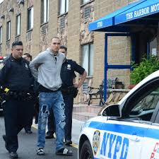 man cuffed after calling brooklyn motel to report he left his gun in his room ny daily news