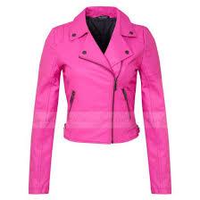 jacket black leather jacket pink faux leather jacket las jacket biker jacket pink leather jacket womens
