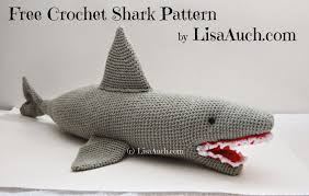 Free Shark Crochet Pattern