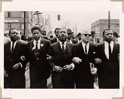Martin Luther King Marching for Voting Rights with John Lewis, Reverend Jesse  Douglas, James Forman and Ralph Abernathy, Selma, 1965 | National Portrait  Gallery