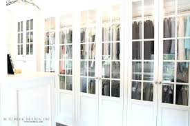 mirrored french closet doors. Delighful Mirrored Mirrored French Doors For Closet Beautiful Walk In With Wall To  Inside Mirrored French Closet Doors