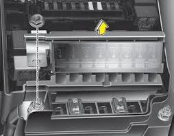 kia forte fuses maintenance kia forte td owners manual if the main fuse is blown it must be removed as follows