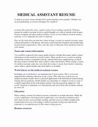 Duties Of A Medical Assistant For A Resumes Medical Assistant Job Duties Resume Examples 20 Medical Assistant