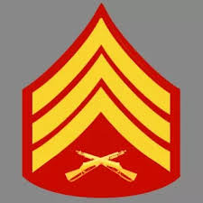 Sergeant Sgt Rank Insignia Marine Corps Emblems For