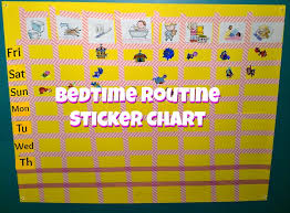 Finally Mom Sticker Chart For Bedtime
