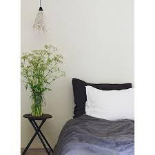linen duvet cover single white and
