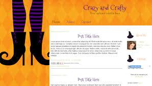 Free Halloween Blog Templates | Spellbound