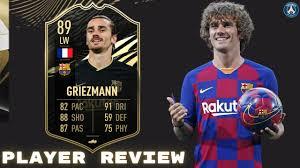 89 Second Inform Antoine Griezmann FIFA 21 Review - YouTube