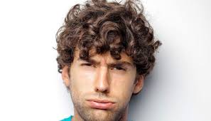 how to get naturally curly hair for men
