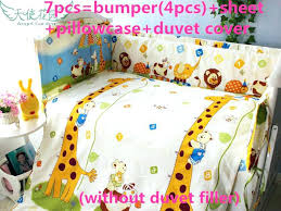 giraffe crib set 6 giraffe home textiles cotton girl baby bedding set for children in sets giraffe crib set giraffe crib bedding